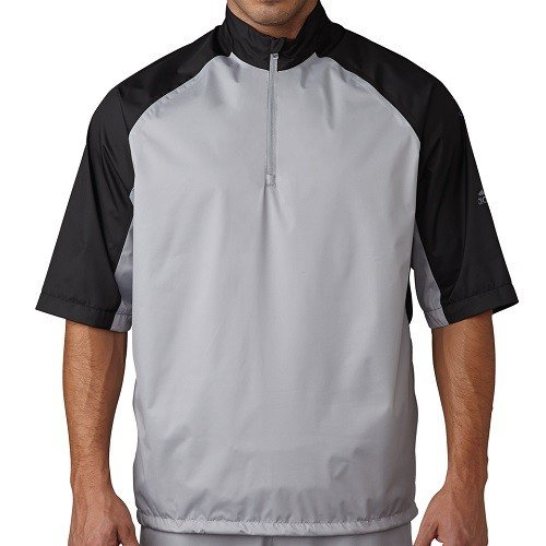 Adidas climastorm provisional ii short sleeve rain jackets for Adidas golf rain shirt