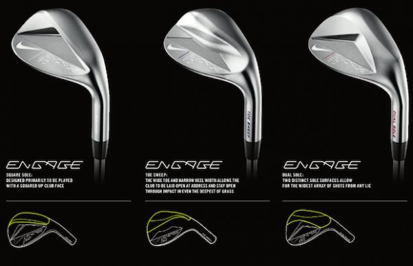 ENGAGE SQUARE SOLE WEDGE AW 50 NIKE C 776