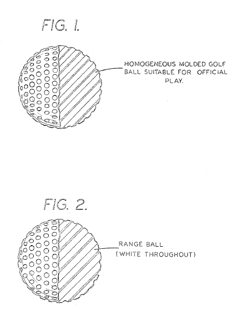 history of golf balls design