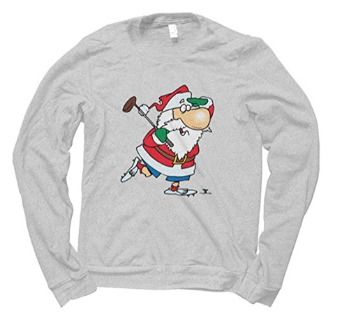 golf-christmas-jumper