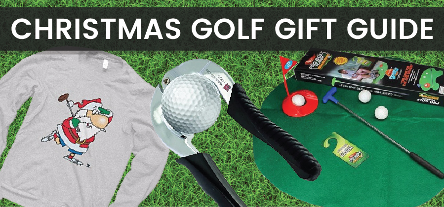 Christmas golf gifts