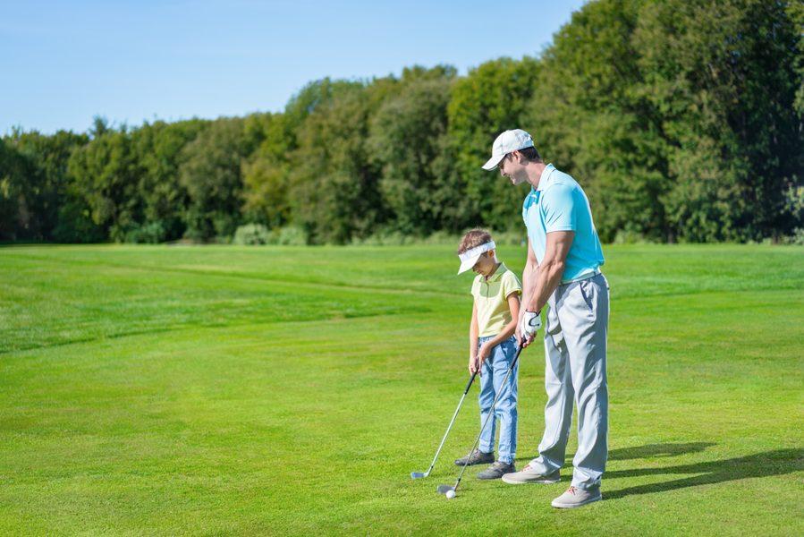 golf-and-children