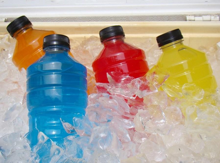 fizzy sport drinks