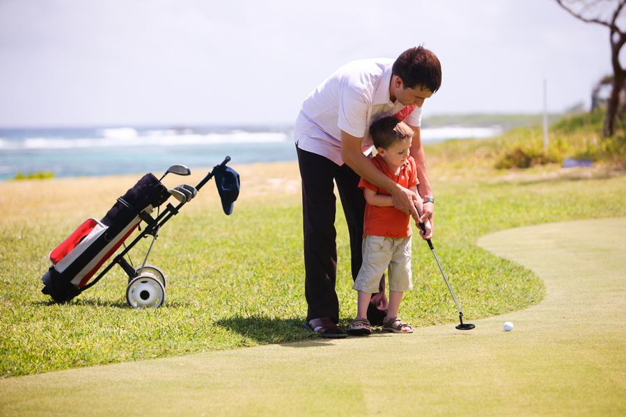 how to get kids into golf again