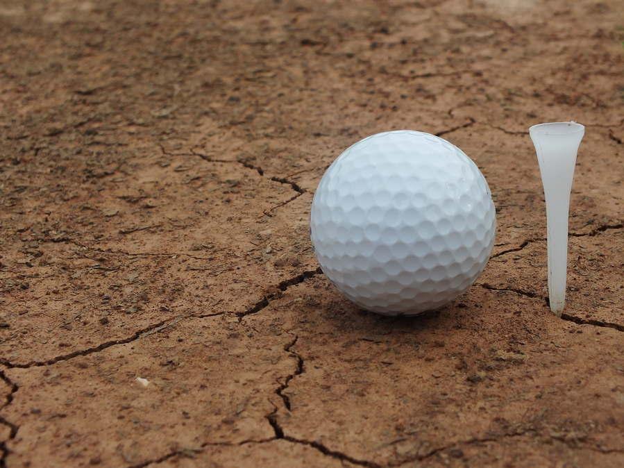 Sand courses involve the golfer hitting a golf ball along slower but truer sandy ground.