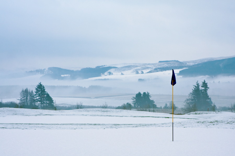 Snow/ice courses are the most difficult types of golf courses