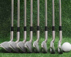 picture of irons from highest to lowest