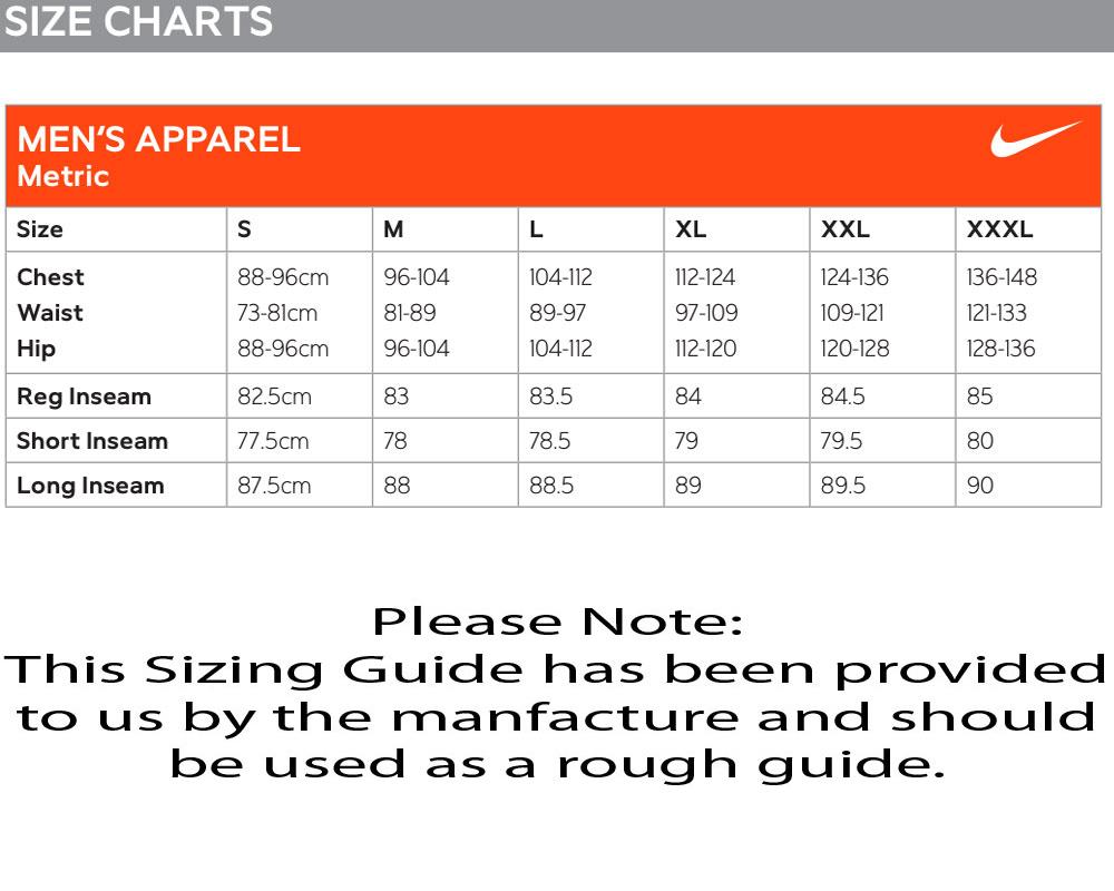 nike socks size chart: Nike modern major moment elite 26 polos
