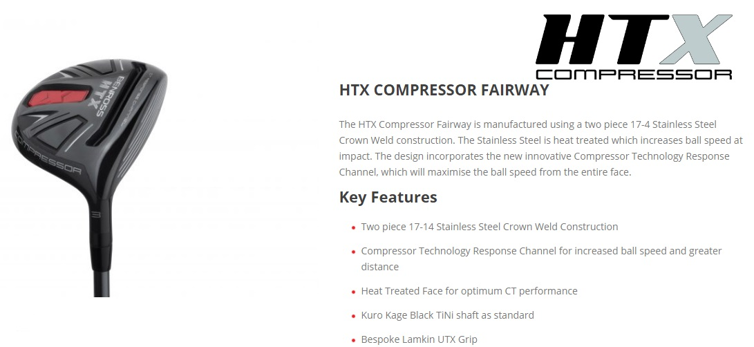 Benross HTX Compressor Fairway Features
