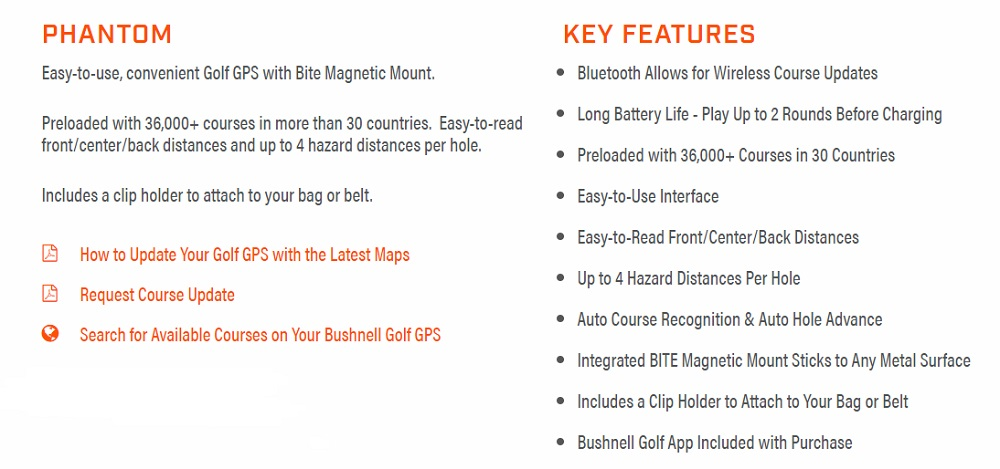Bushnell-Phantom-Features and Benifits