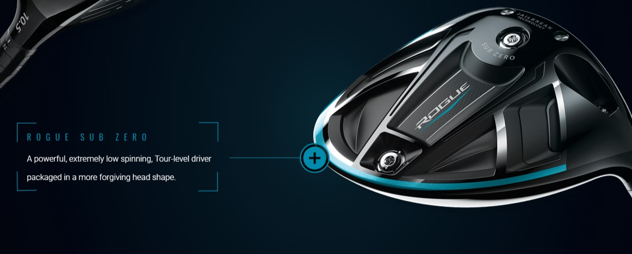 Callaway Rogue Sub Zero Driver Featured Information