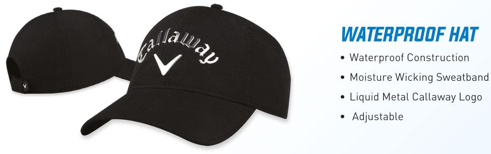 Callaway Waterproof Caps Features