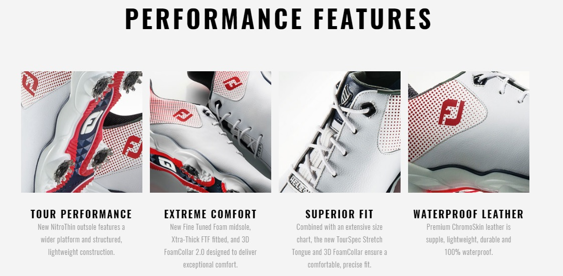Footjoy DNA Helix Golf Shoes PERFORMANCE FEATURES