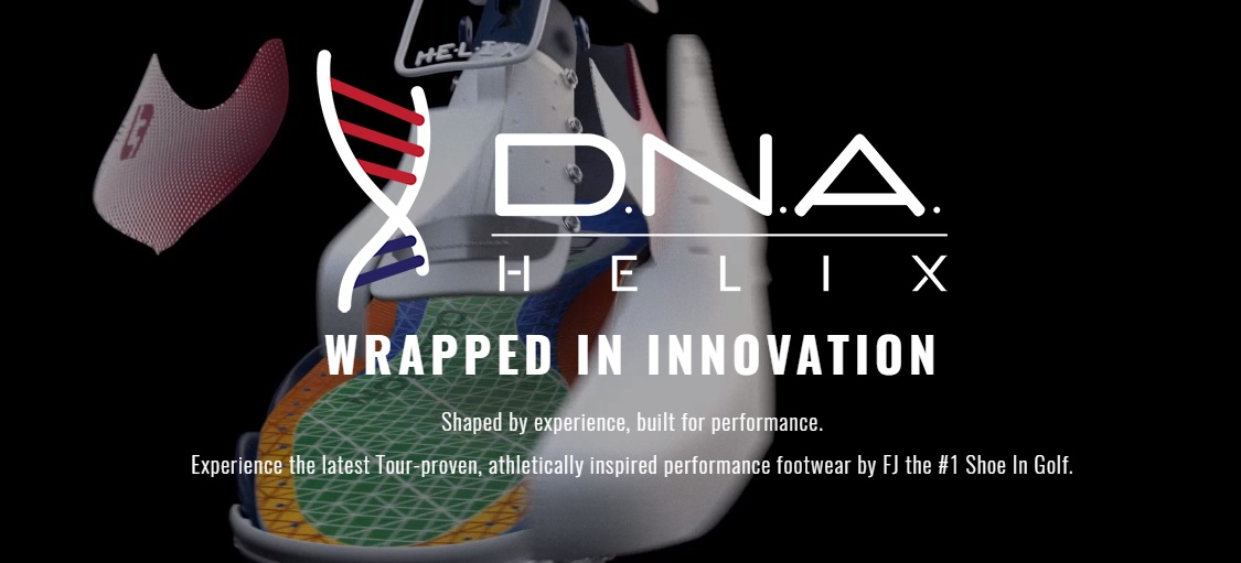 Footjoy DNA Helix Golf Shoes Wrapped in Innovation