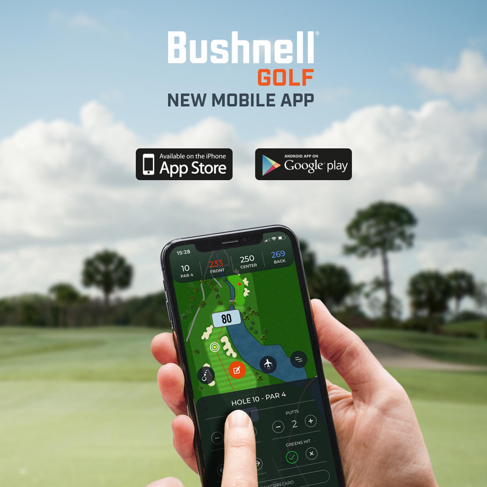 Bushnell Mobile Golf App