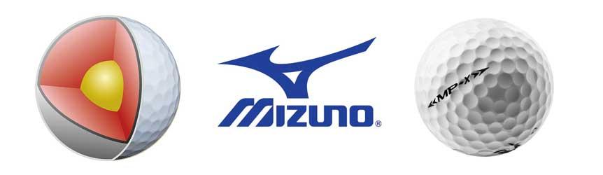 Mizuno MP-X Golf Ball Construction
