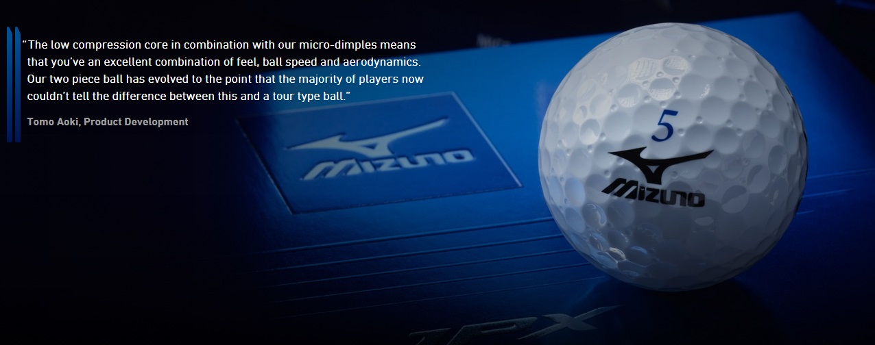 Mizuno JPX Golf Balls Compression