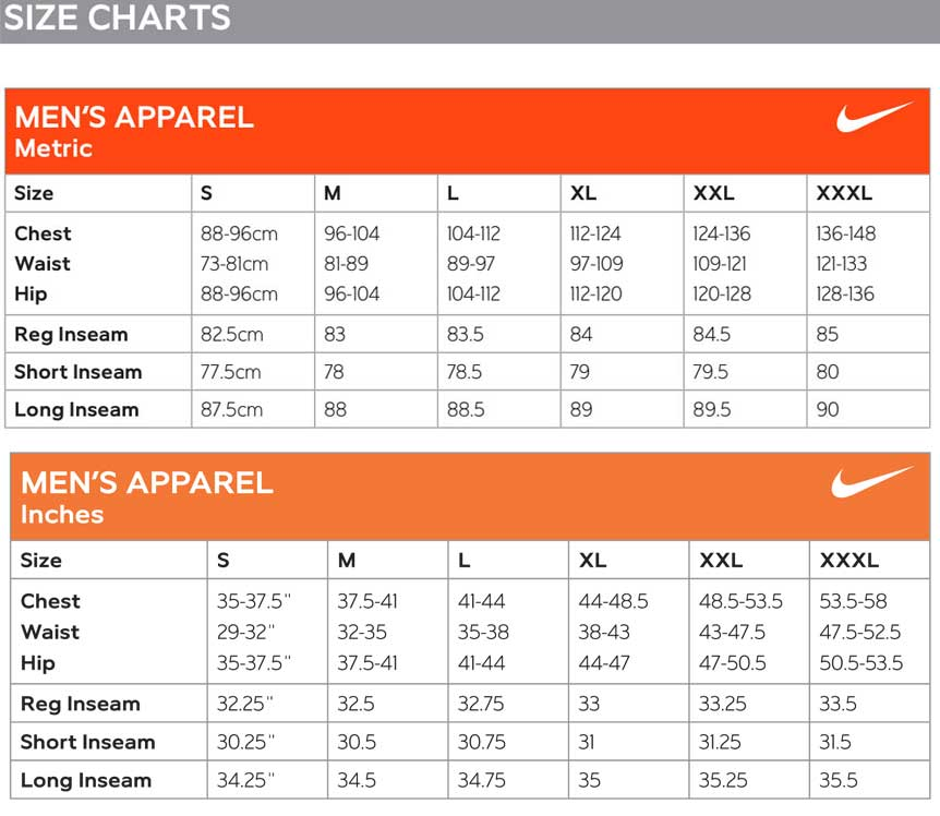 Nike shirt size chart hobit fullring co