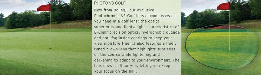Bolle Photo V3 Golf Lens