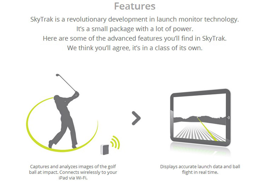 Skytrack information features