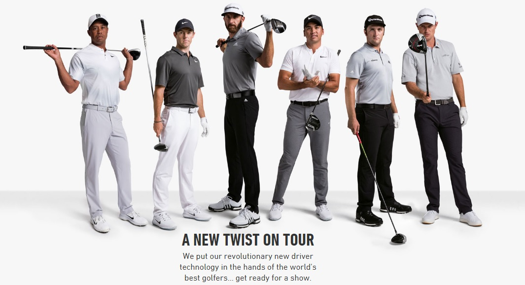 TaylorMade Twist on Tour