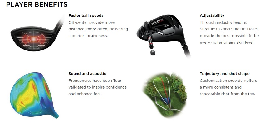Titleist 917 D3 Drivers Players Benefits
