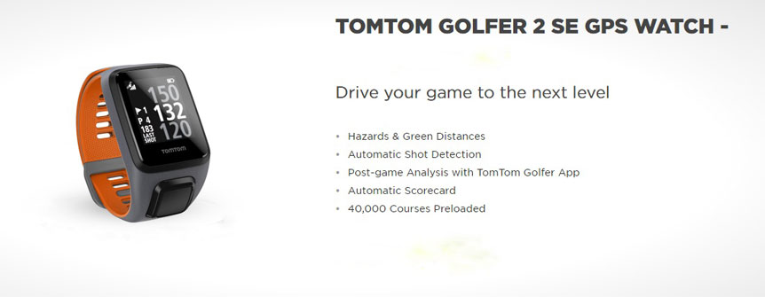 TomTom2 Drive your game to the next level