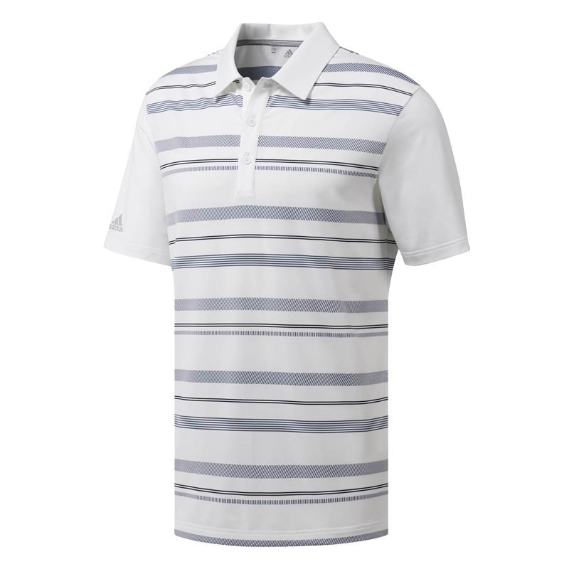 adidas Ultimate Novelty Stripe Polo