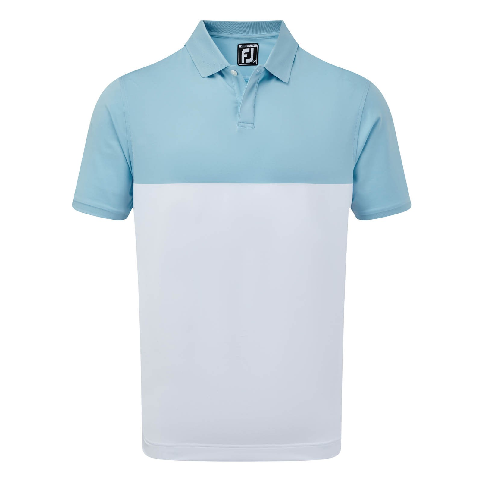 Footjoy Stretch Lisle Engineered Colour Block Polo