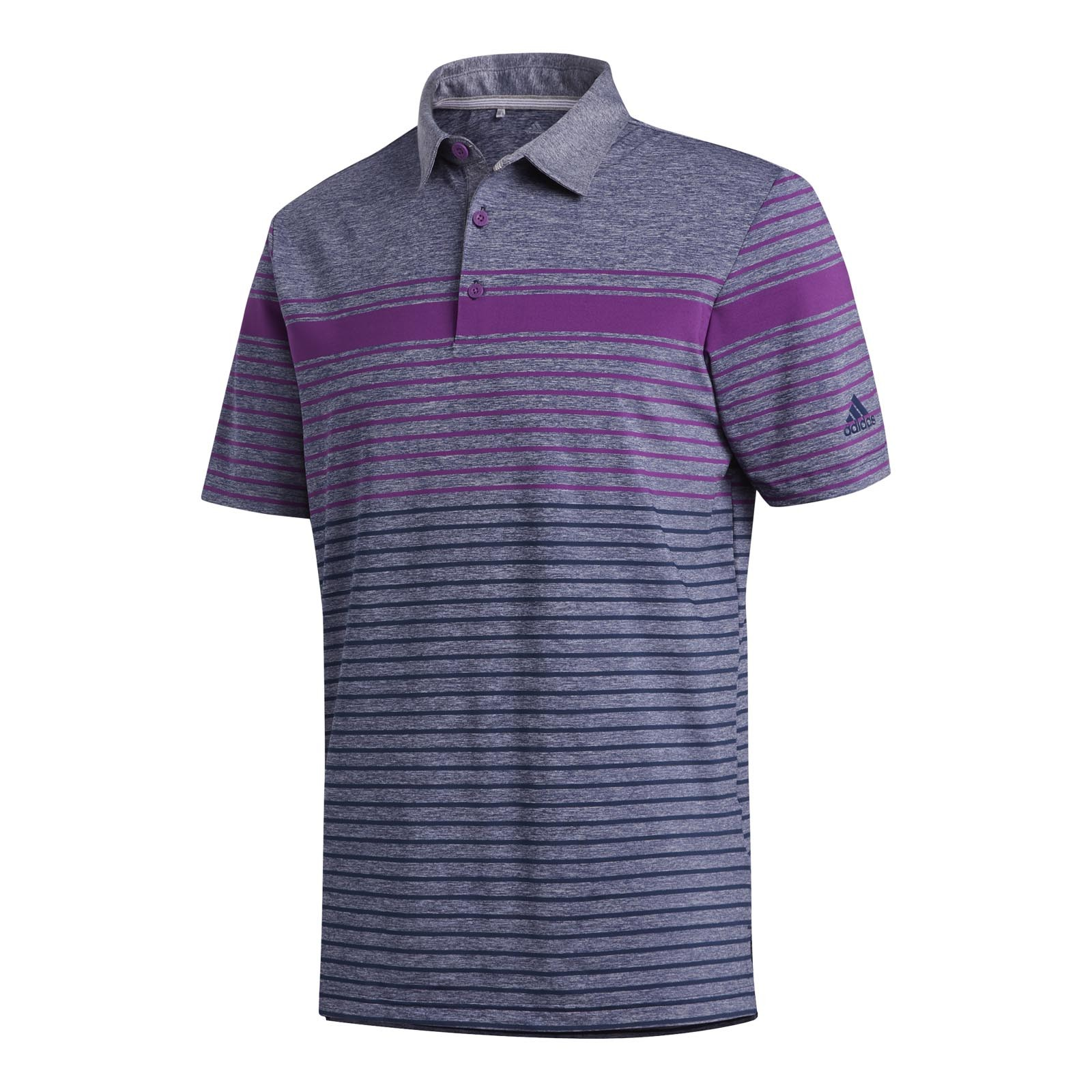 adidas Ultimate Engineered Heather Polo Shirts