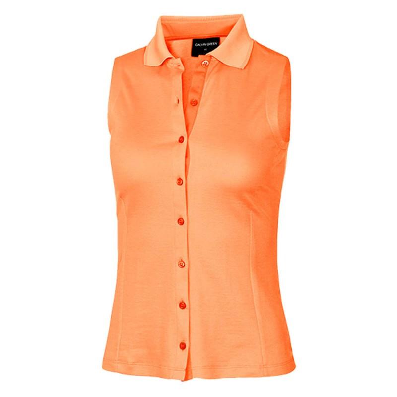 904267a24 Galvin Green Michelle Ladies Sleeveless Polo Shirts