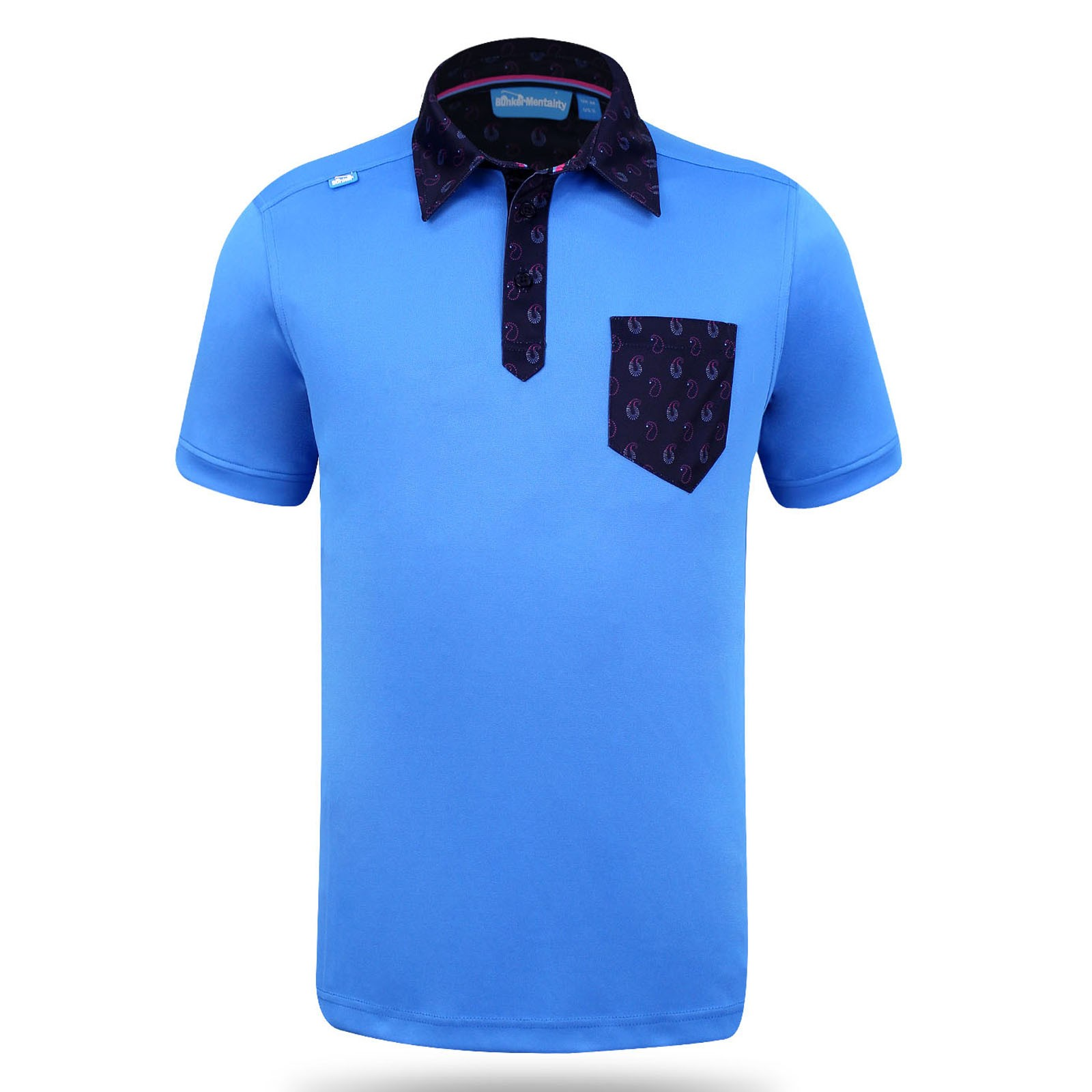Bunker Mentality State Ombre Tech Polo