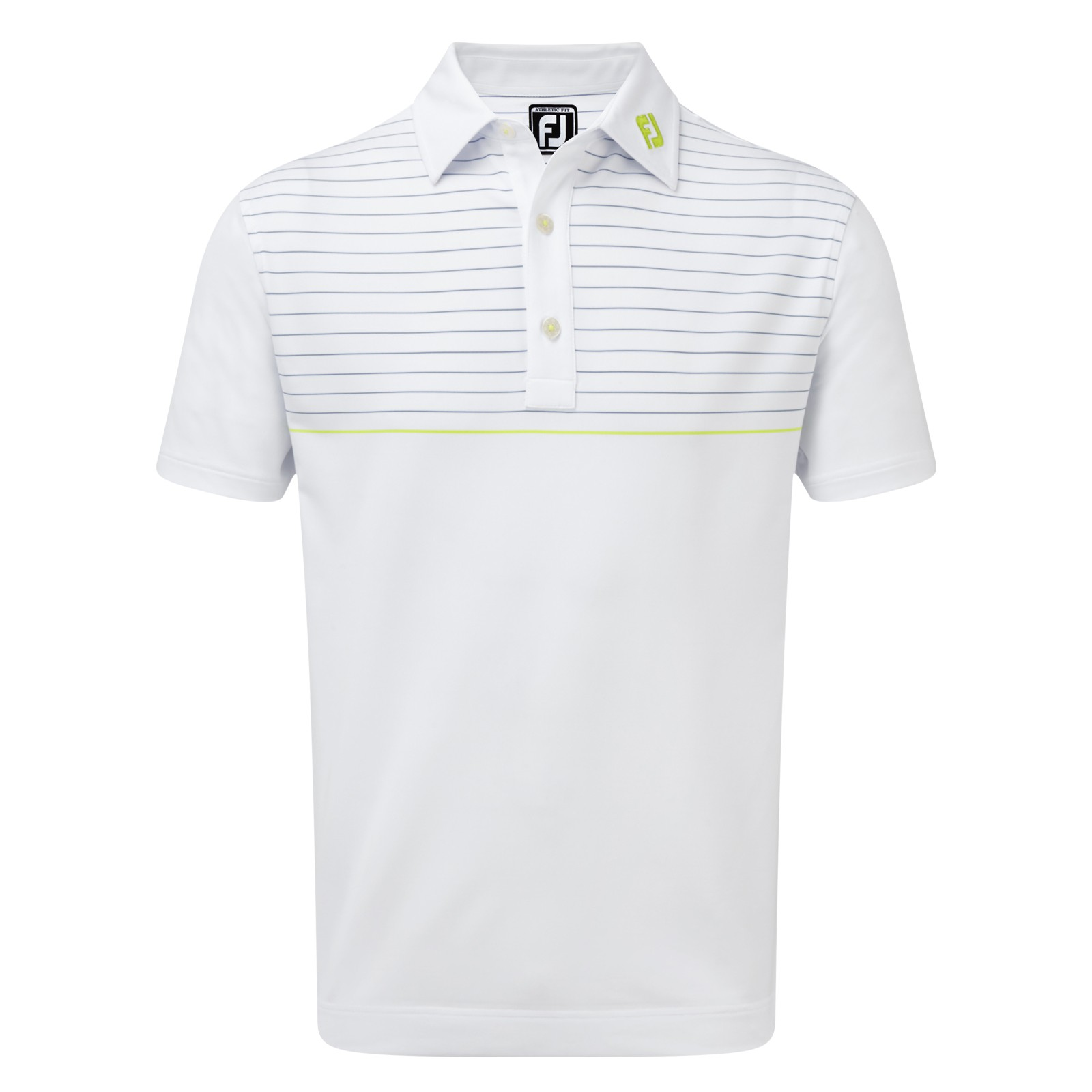 Footjoy Stretch Lisle Engineering Pinstripe Polo
