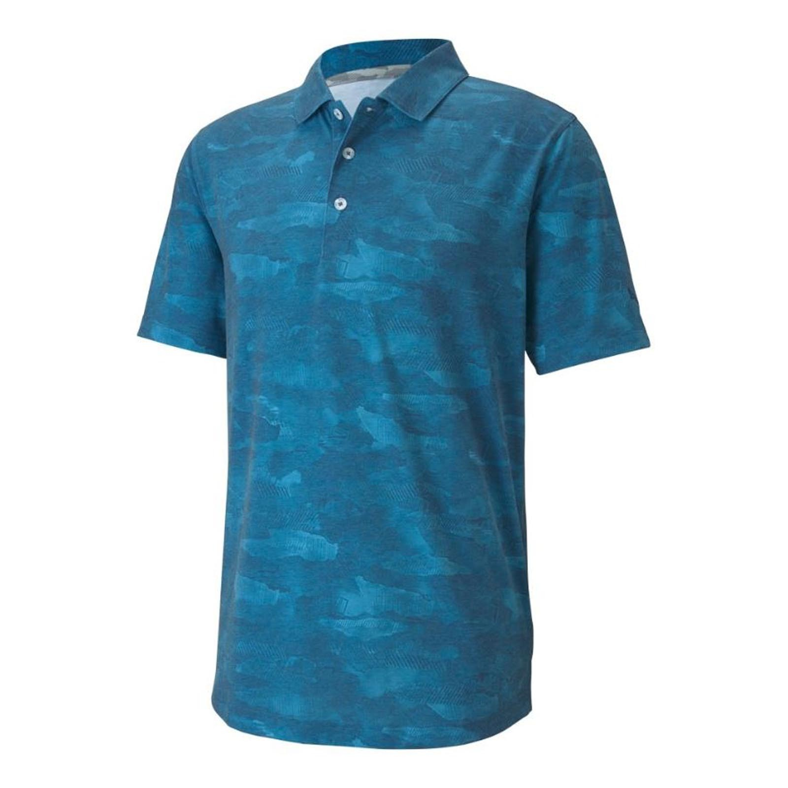 Puma Solarized Camo Polo Shirts