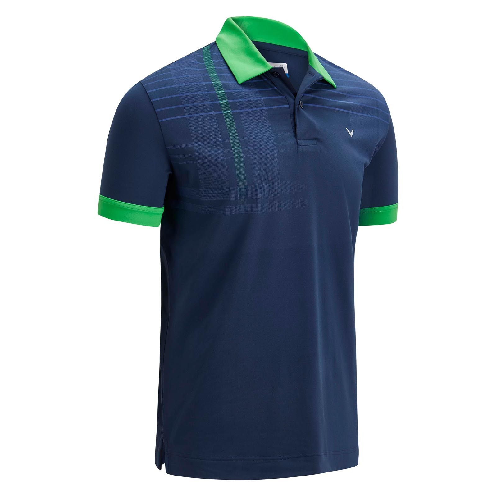 Callaway Graphic Shoulder Print Polo