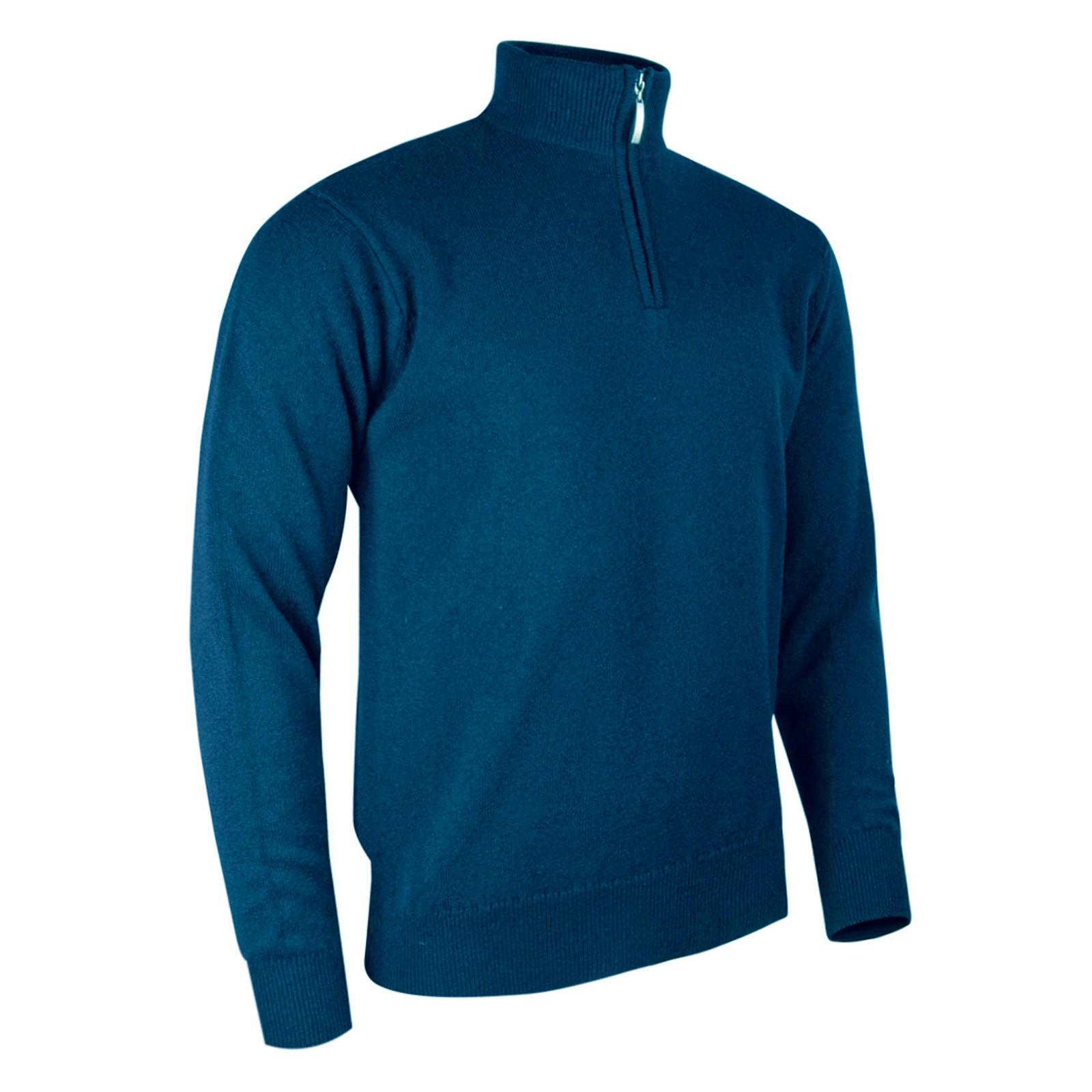 Glenmuir Coll 1/4 Zip Sweaters