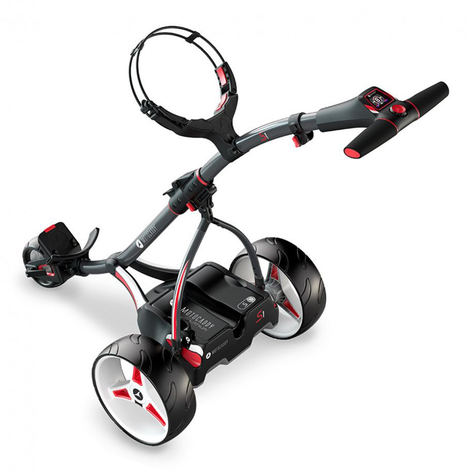 Motocaddy S1 Digital Electric Golf Trolleys - (18 Hole Lithium Battery)