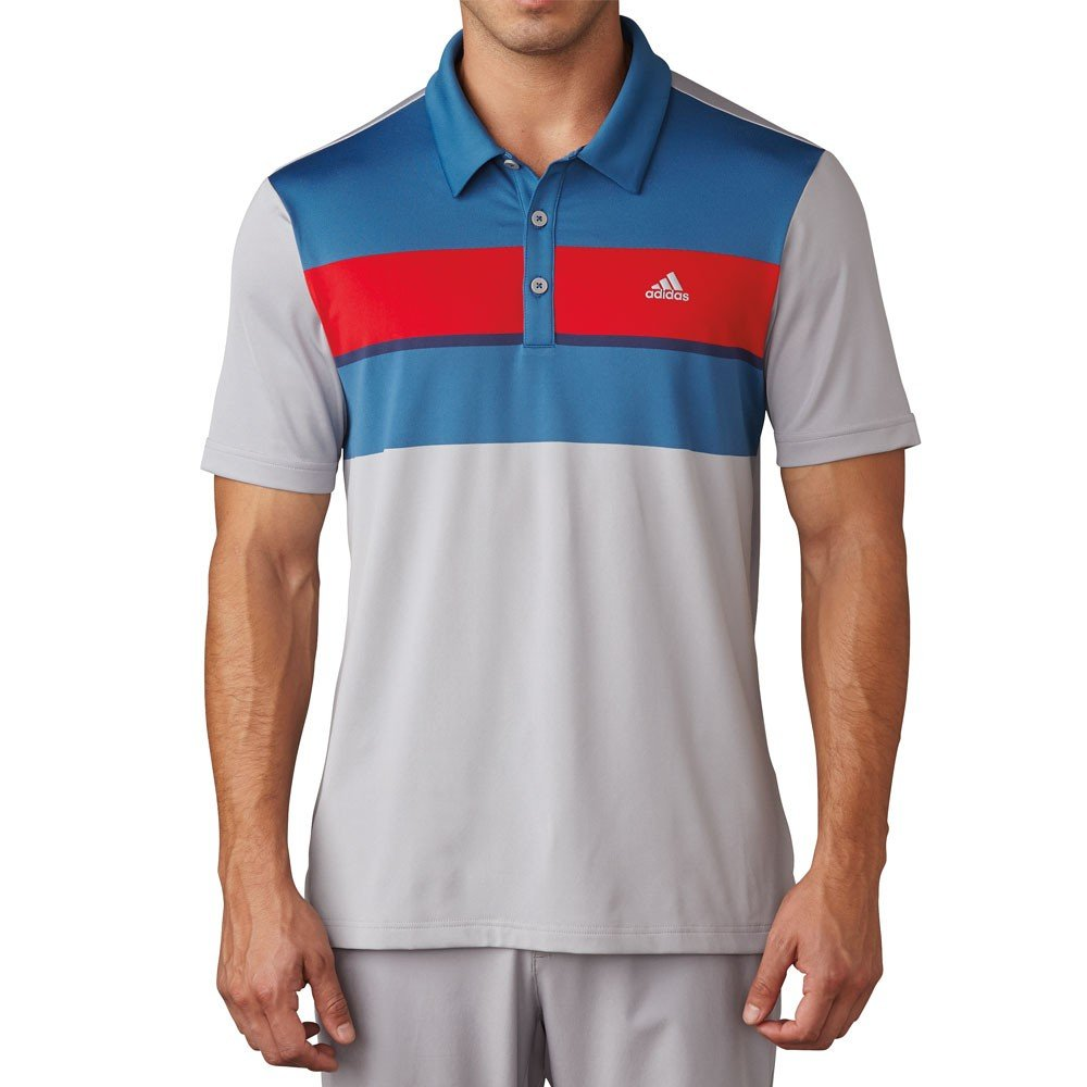 2cb2b8f46f Adidas Climacool Chest Block Polo Shirts