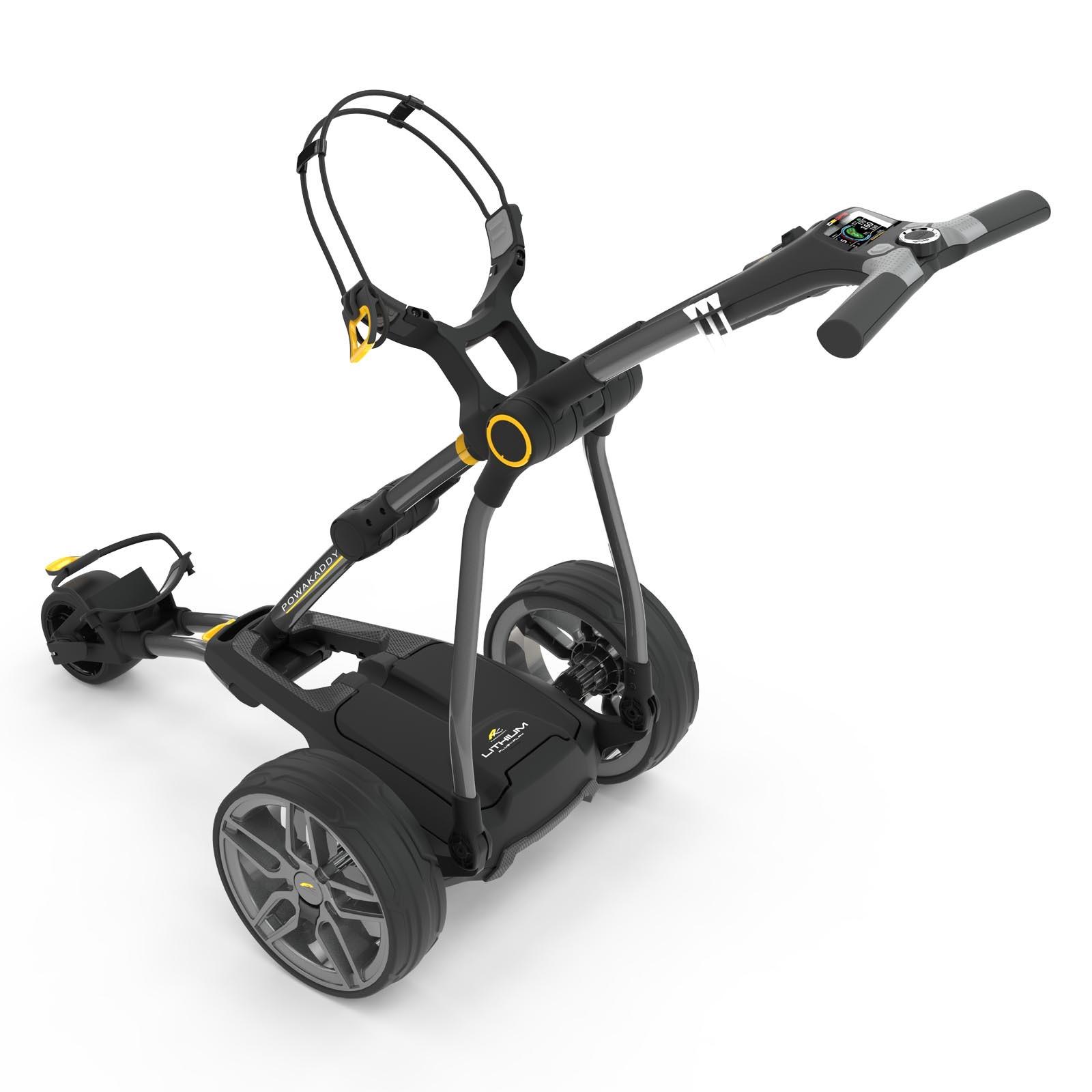 Powakaddy Compact C2i GPS Golf Trolley (18 Hole Lithium Battery)