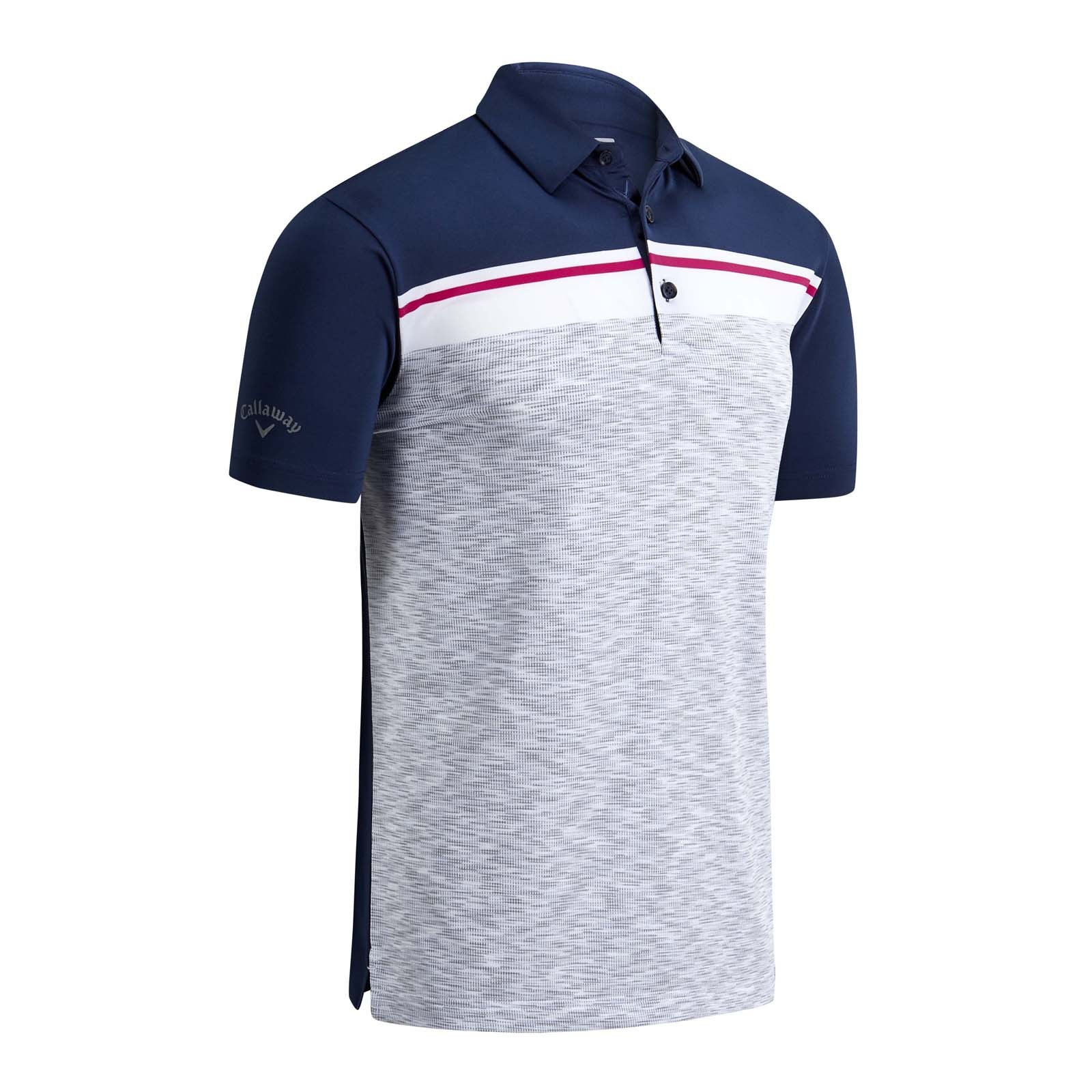 Callaway Shoulder Block Polo Shirts