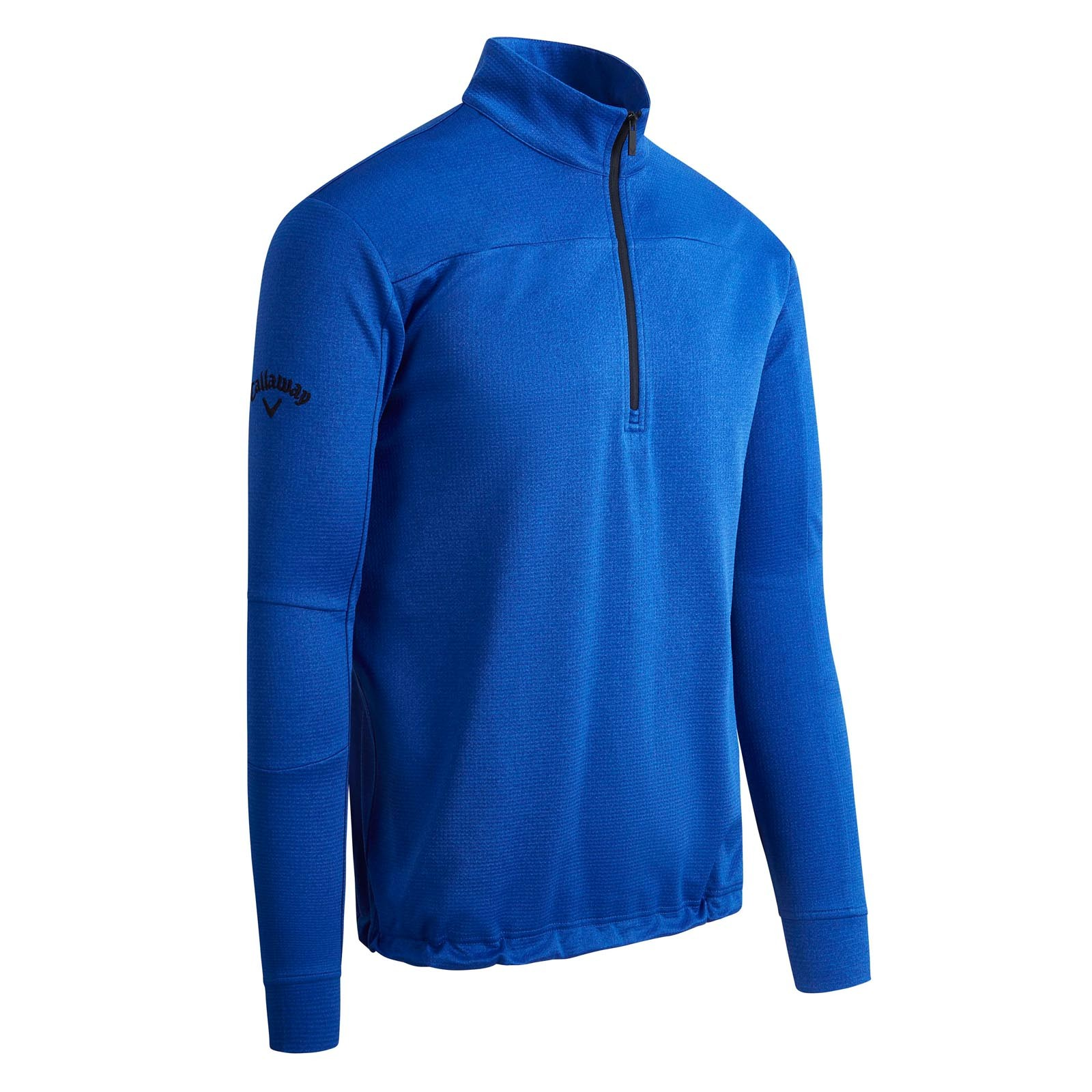 Callaway Pieced Waffle 1/4 Zip Pullovers