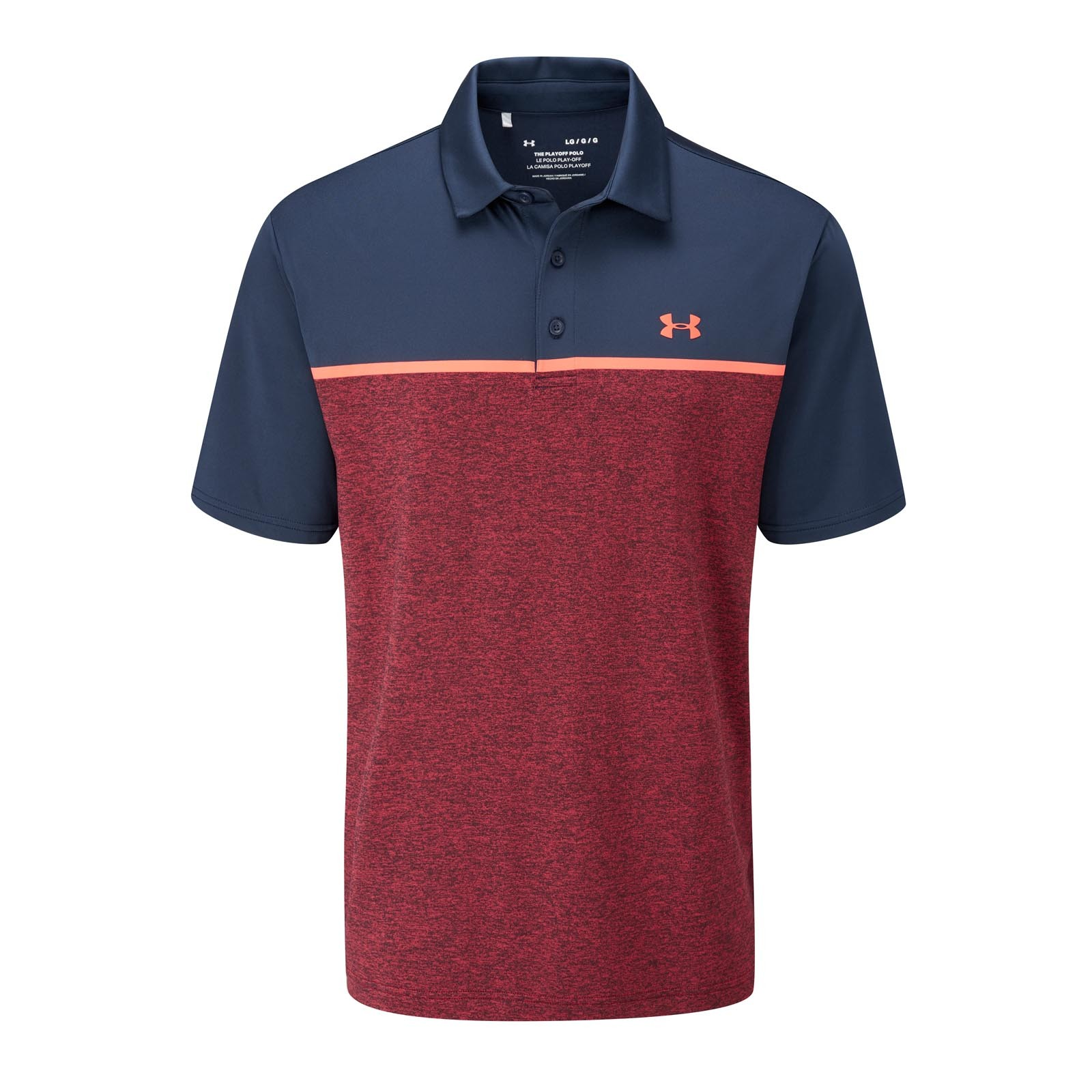 Under Armour Playoff Polo 2.0 - Edge Lit Stripe