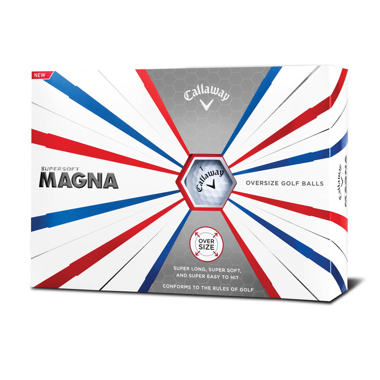 Callaway Supersoft Magna Golf Balls - Multibuy x 2
