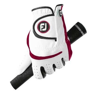 Footjoy Junior Golf Glove White/Red