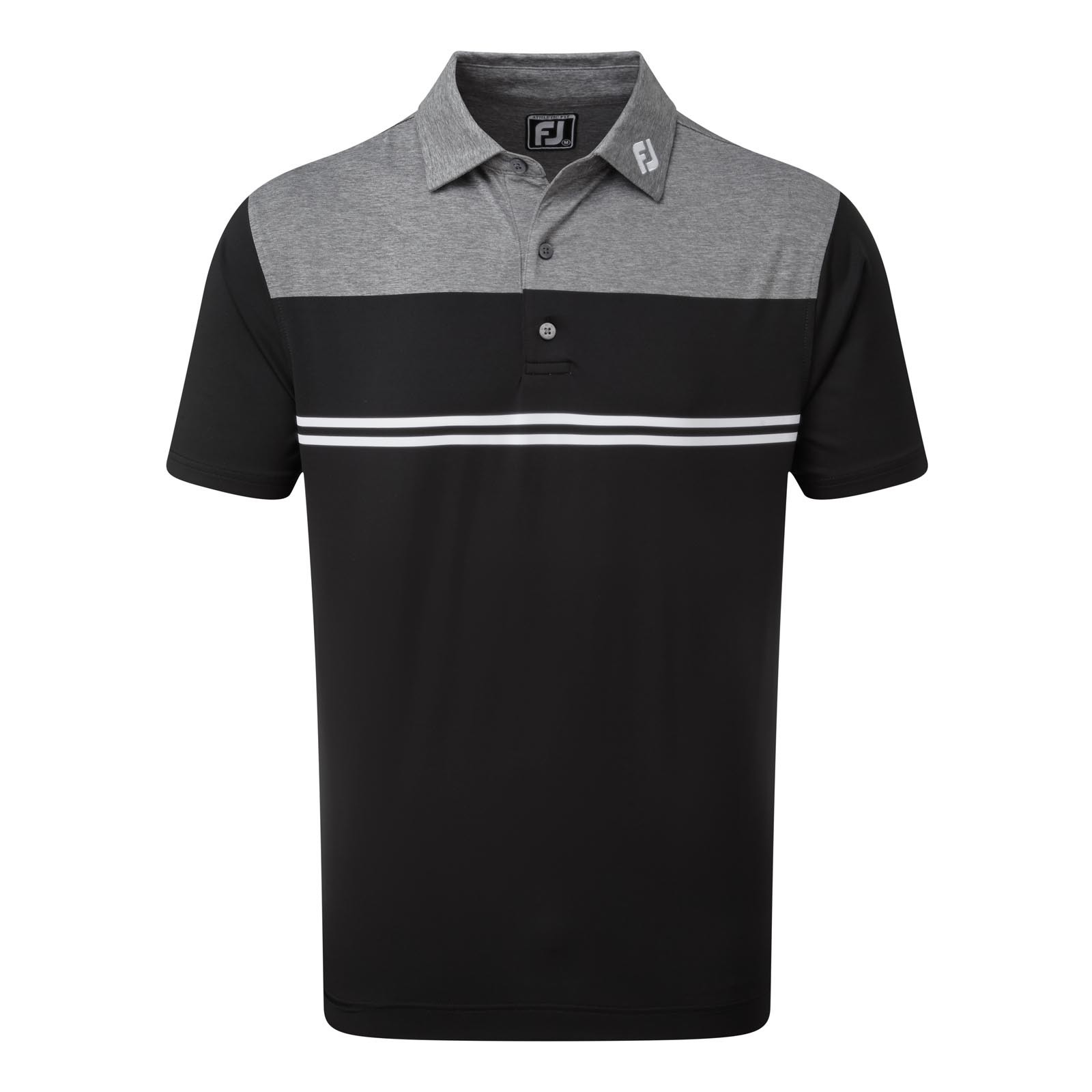 Footjoy Heather Colour Block Lisle Performance Shirts