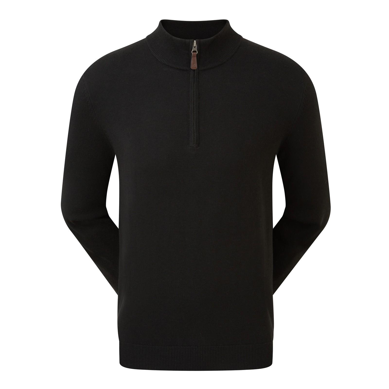 Footjoy Wool Blend Half Zip Pullovers
