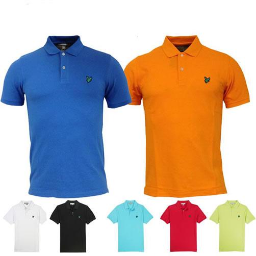 Lyle & Scott Green Eagle Golf Polo T Shirt