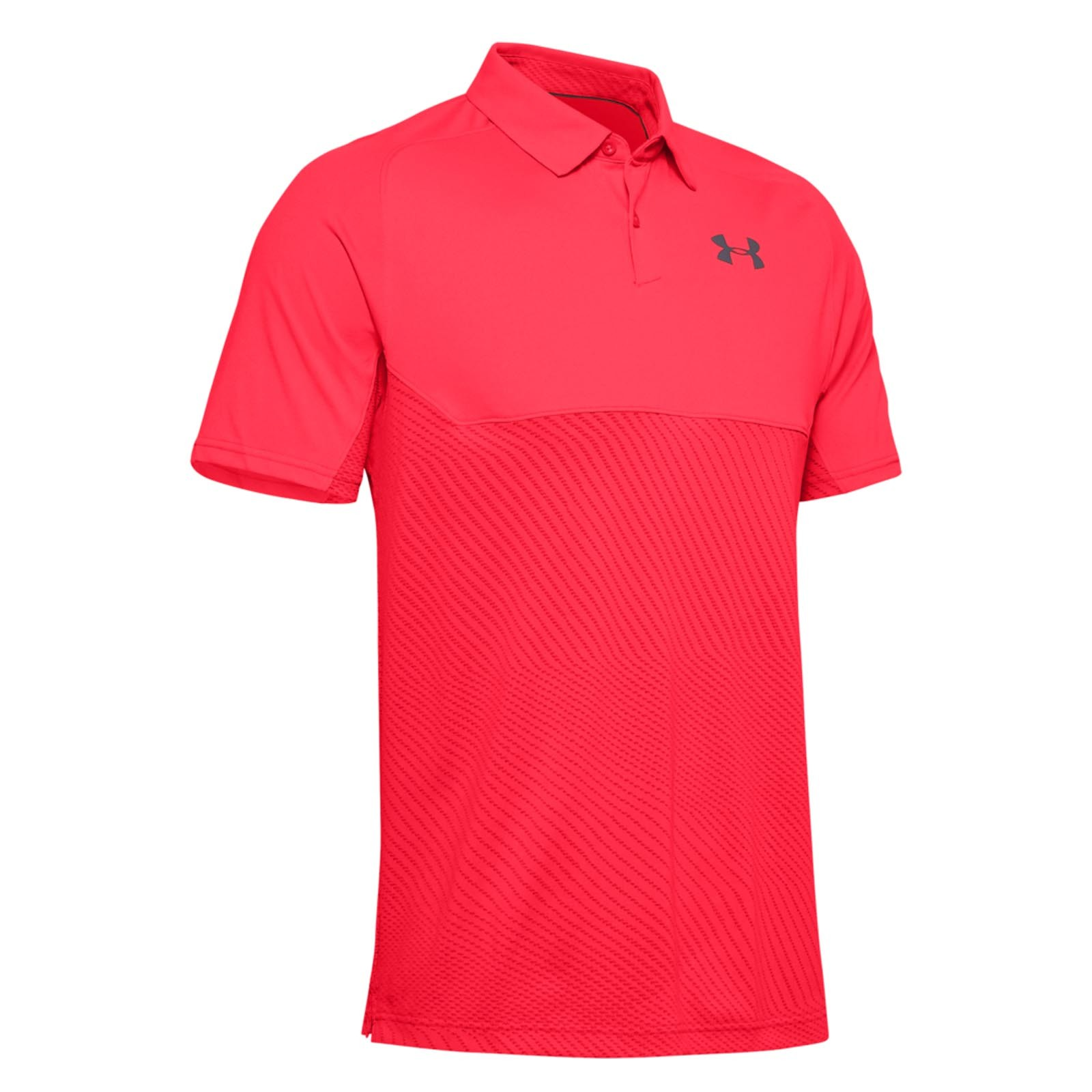 Under Armour Tour Tips Blocked Polo
