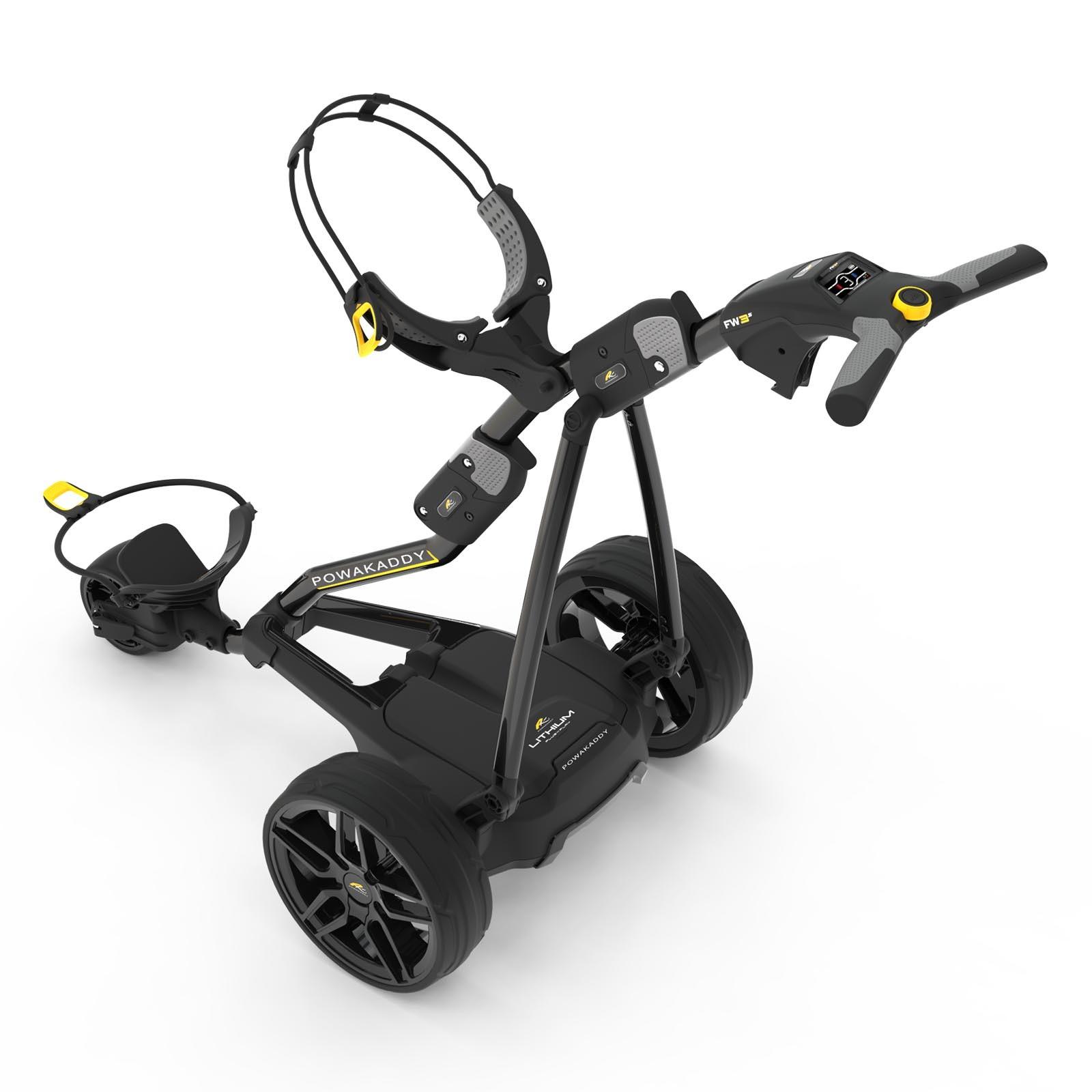 Powakaddy FW3s Golf Trolley (18 Hole Lithium Battery)