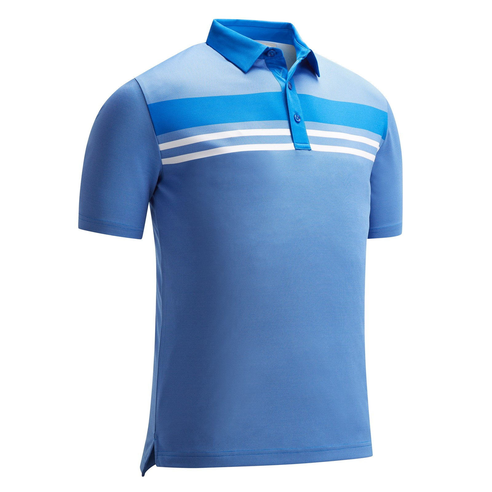 Callaway Yarn Dye Chest Stripe Polo